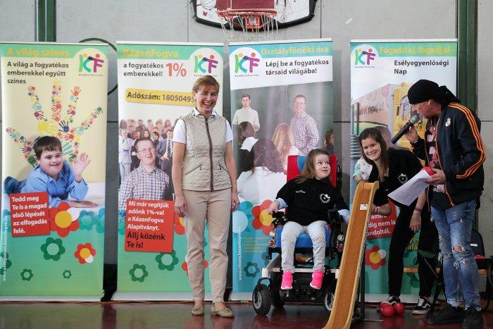 A fogyatékkal élőkre hívta fel a figyelmet a köztársasági elnök felesége